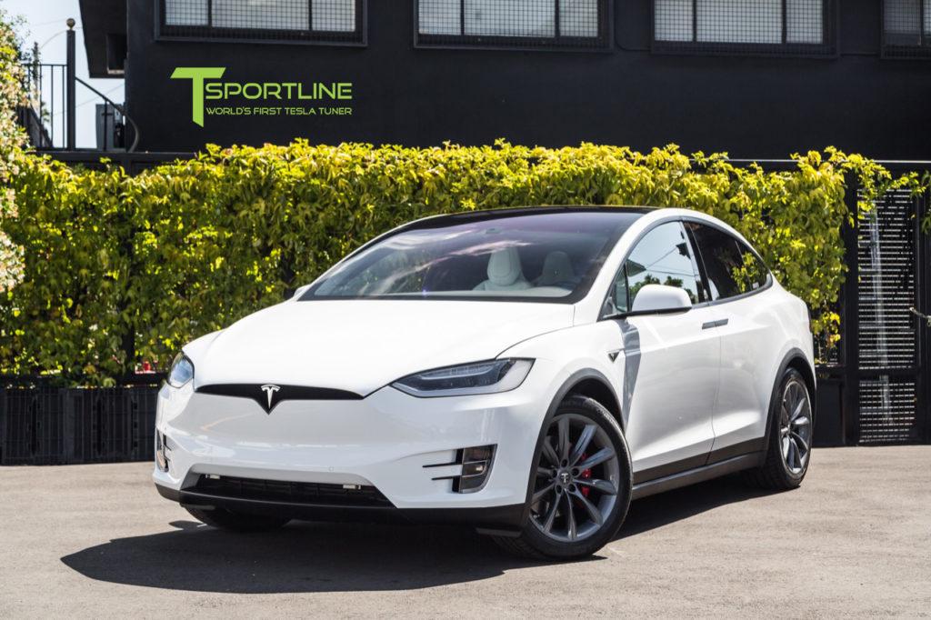 T Sportline World S First Tesla Tuner Accessories For