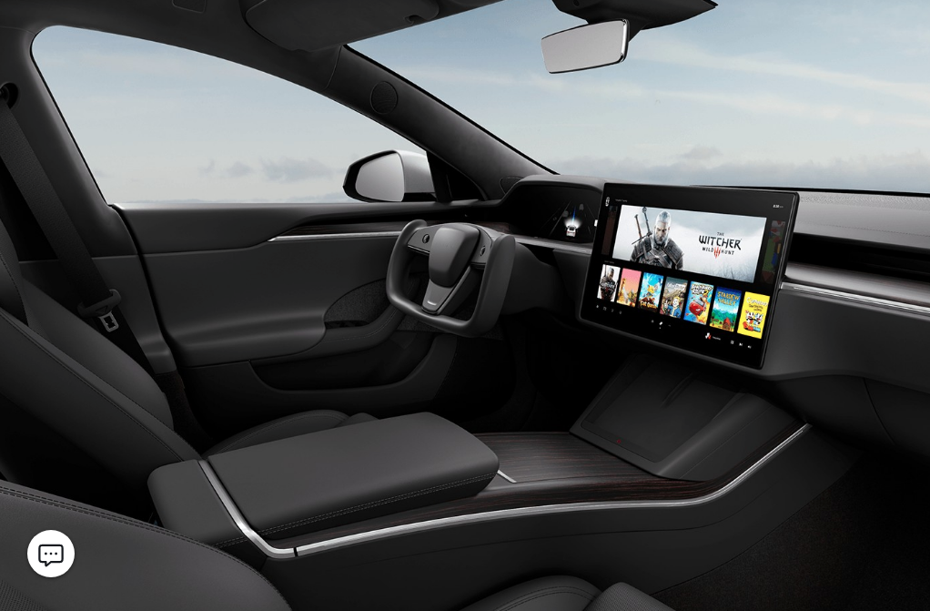 All Black Model S interior.png
