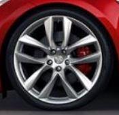 arachnid wheel on red car.JPG