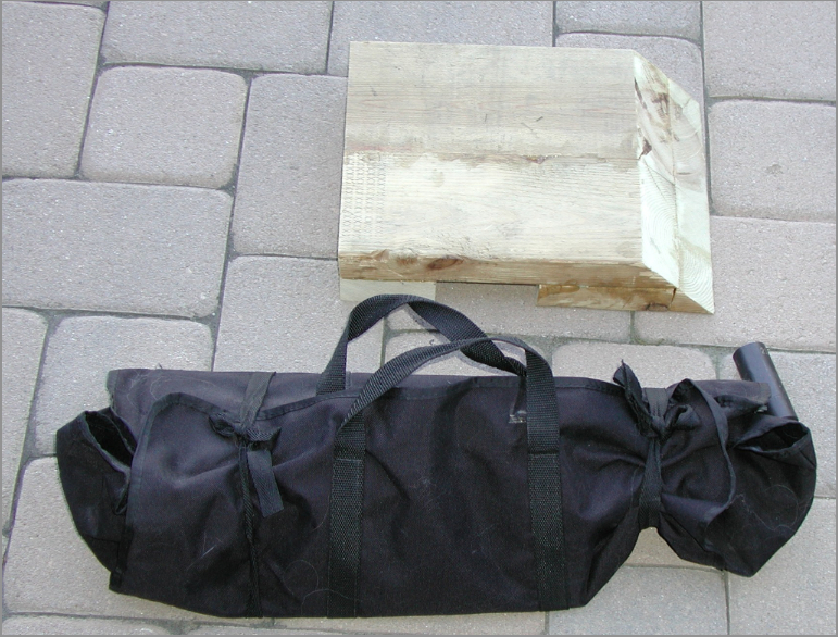 Carrying case and wood ramp.jpg