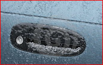 Frozen car door handle.JPG