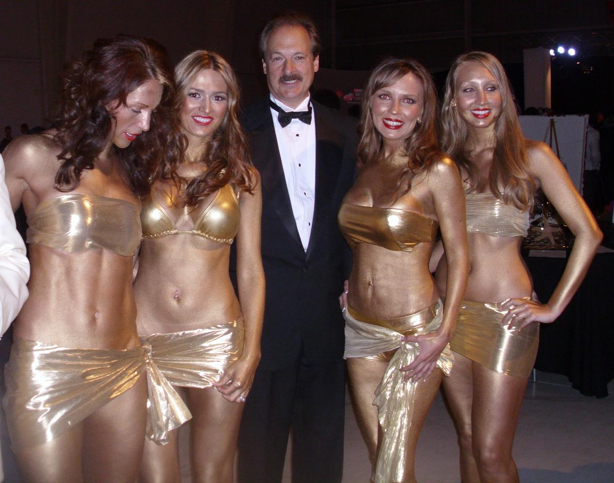Larry and some Bond Girls.jpg