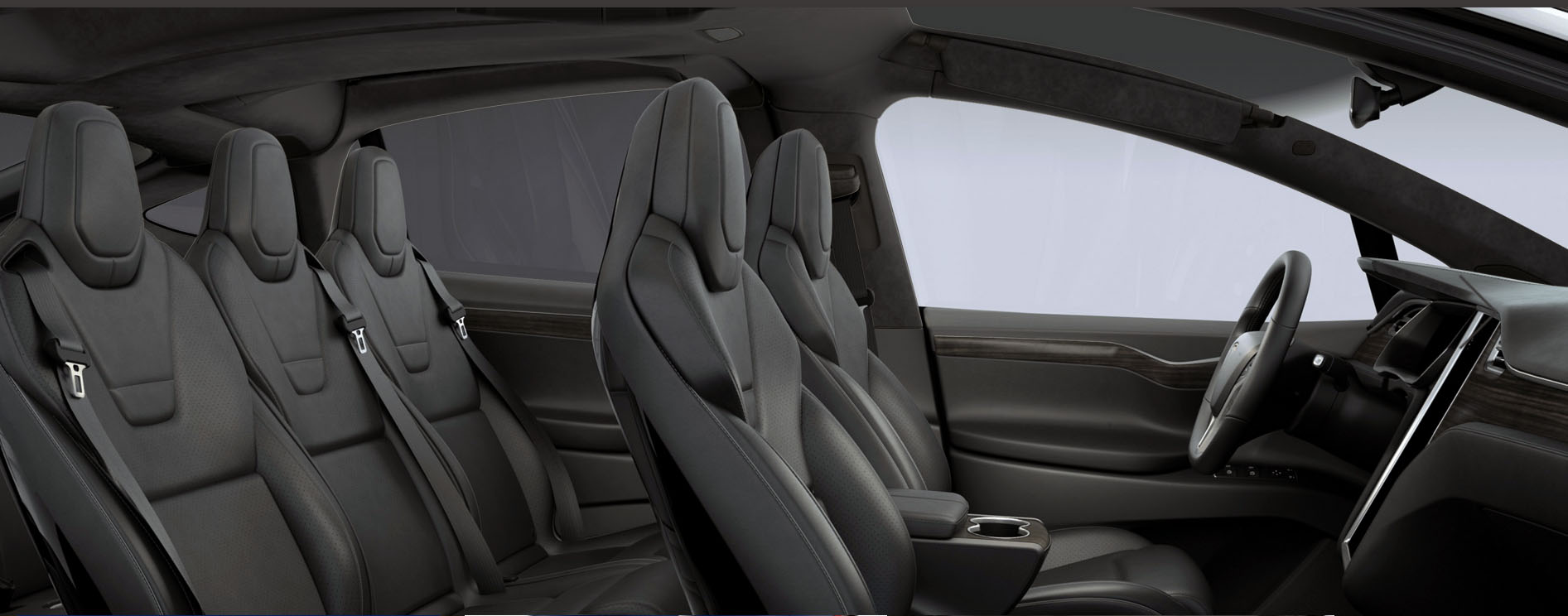 model X black leather, black headliner with matte obeche.jpg