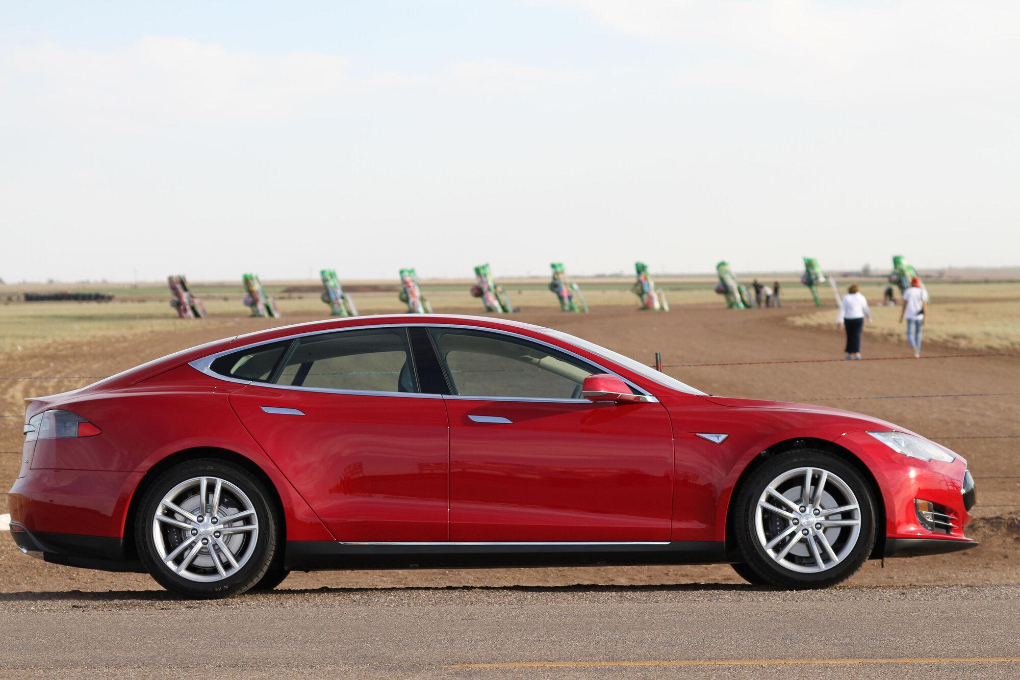 Tesla at Cadillac ranch.jpg