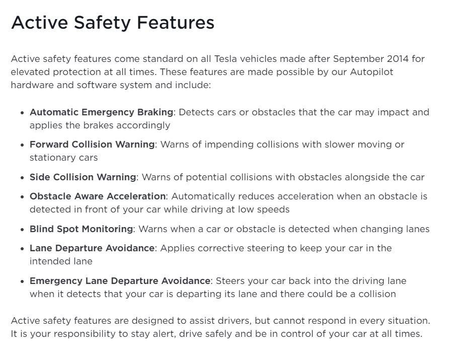 Tesla Autopilot active safety features.JPG