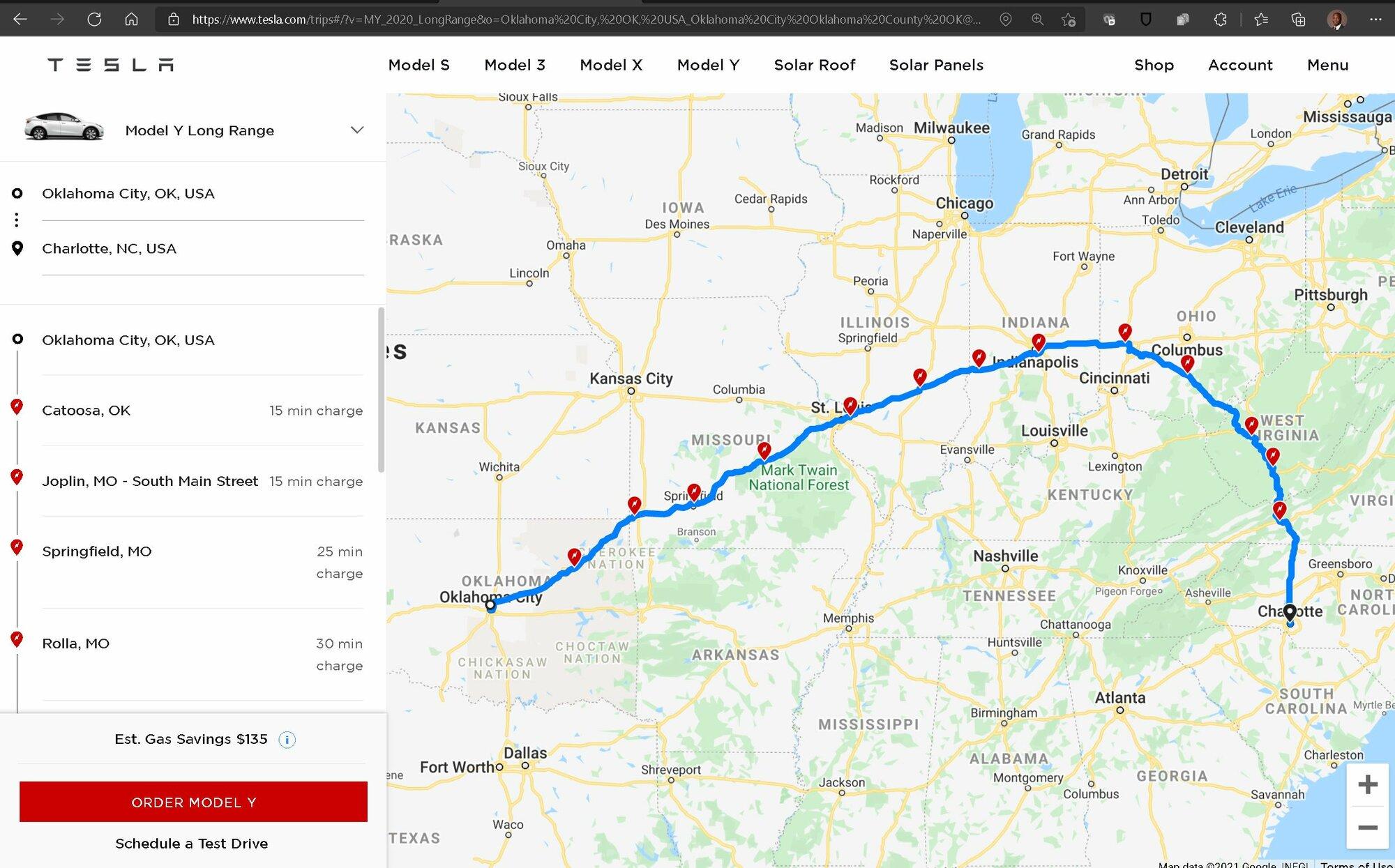 tesla.com-trips wacky results.JPG