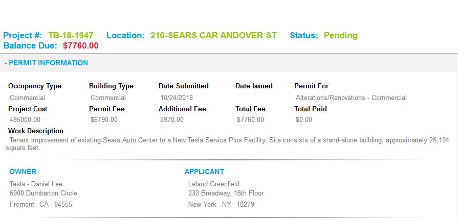 Tesla Service Peabody, MA Permit Form.png