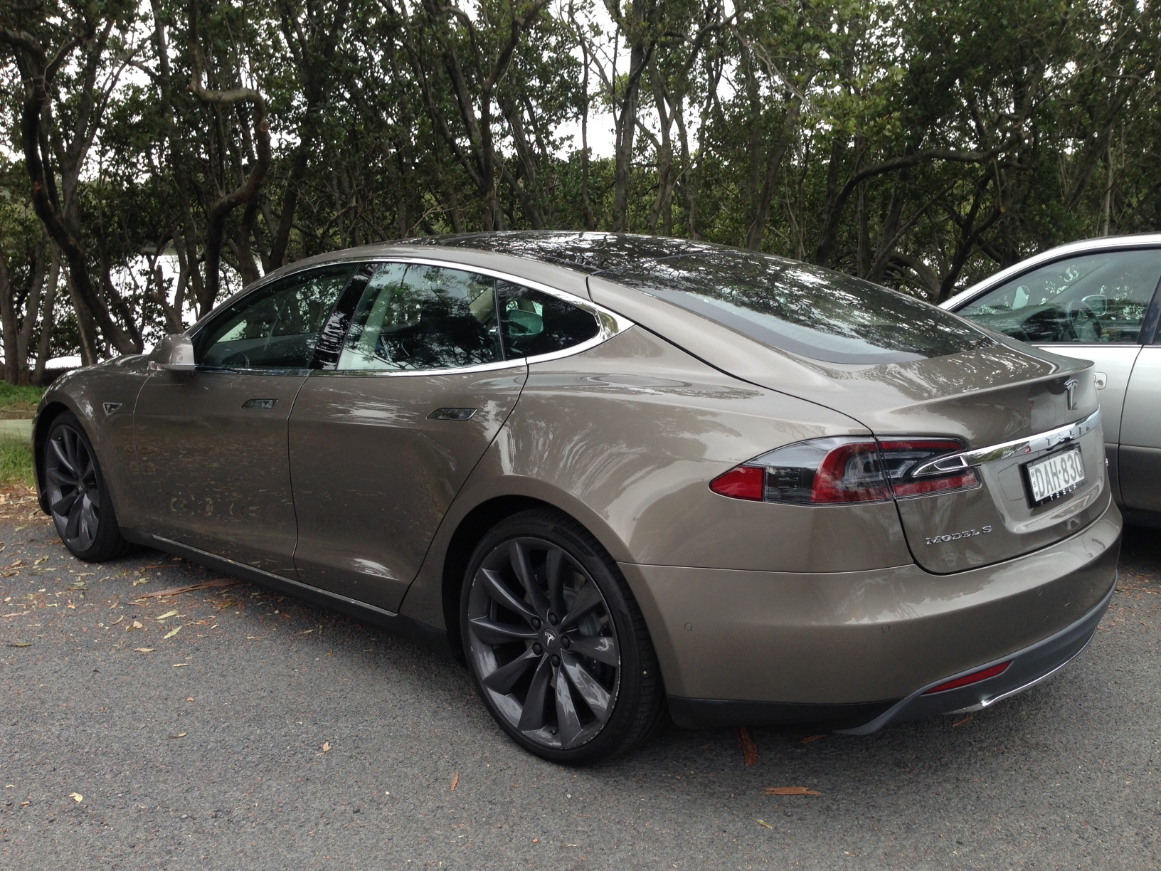 Tesla spotted in Concord.JPG