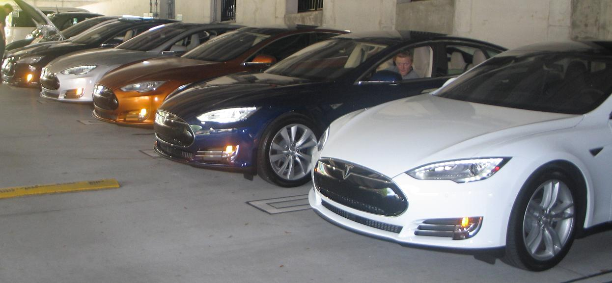 Teslas of every color.jpg