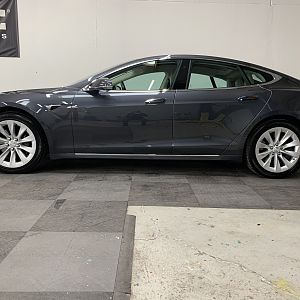 Ceramic Pro Coating on Tesla S