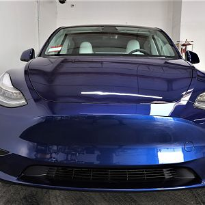All Around Paint Protection Film on this Tesla Y