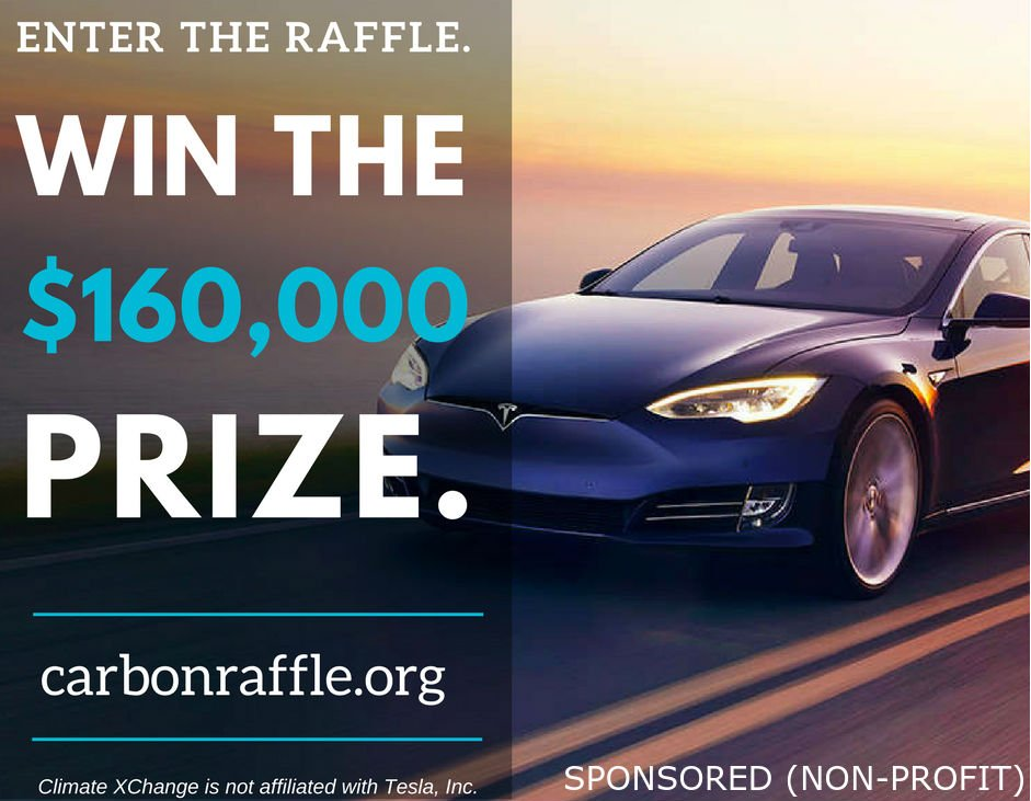 its your last chance to enter the raffle to win a tesla