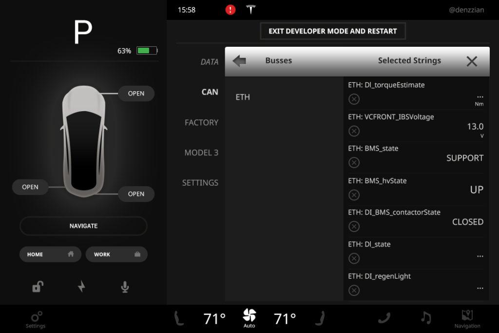 Designer Creates High Res Rendering Of Model 3 Screen Data Tesla Motors Club