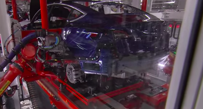 ca55e135c6384 Musk Gives Model 3 Factory Tour  Says He Sees a  Path Out of Hell  - Tesla  Motors Club