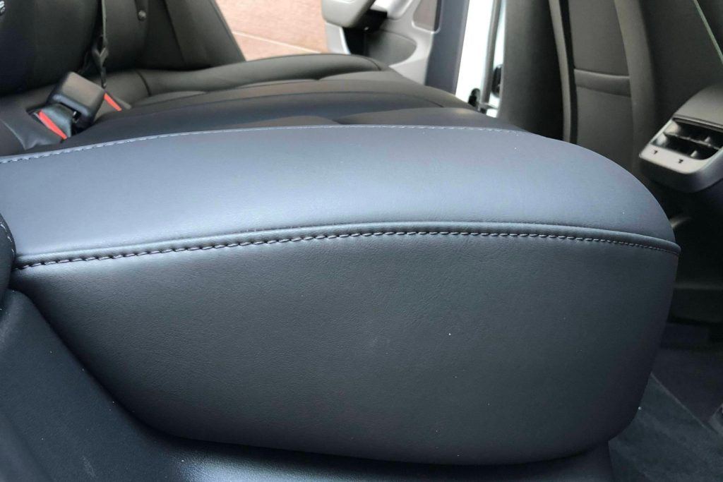 Tesla Adds More Cushion To Model 3 Rear Seat