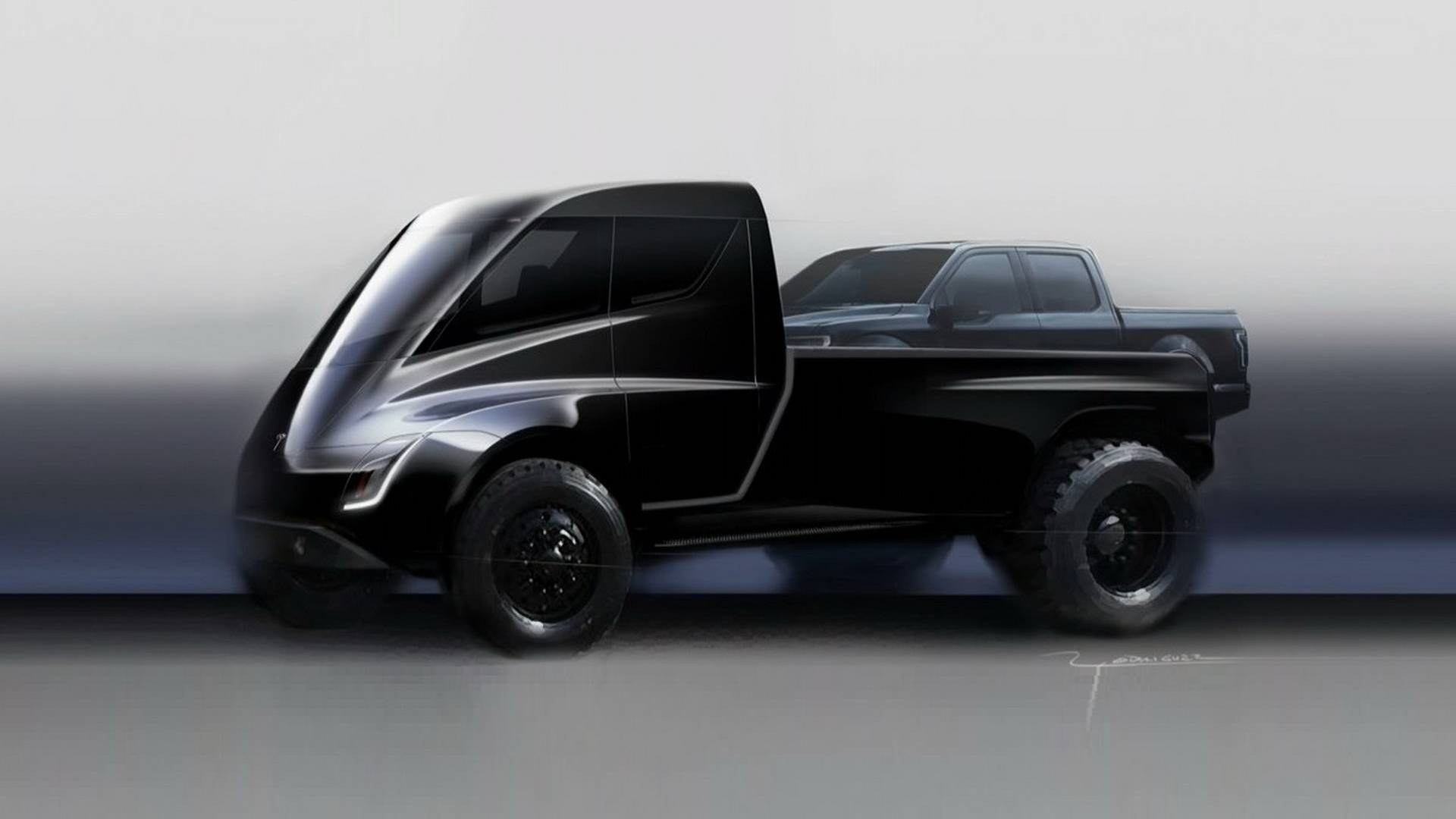 Ysis Tesla Pickup Truck Battery Size Range 0 60 Mph Time