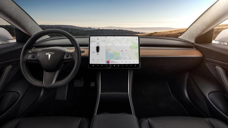 Tesla working on Autopilot pothole avoidance, in-car video playback