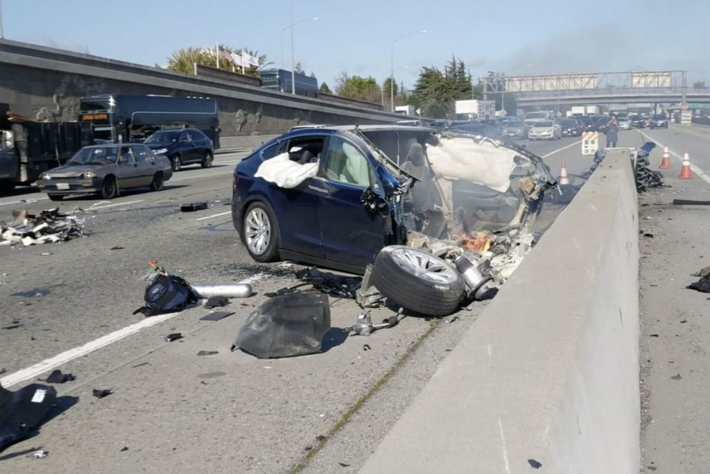 Alleged Faulty Tesla Autopilot Feature Leads To Fiery Car Crash, Lawsuit Battles