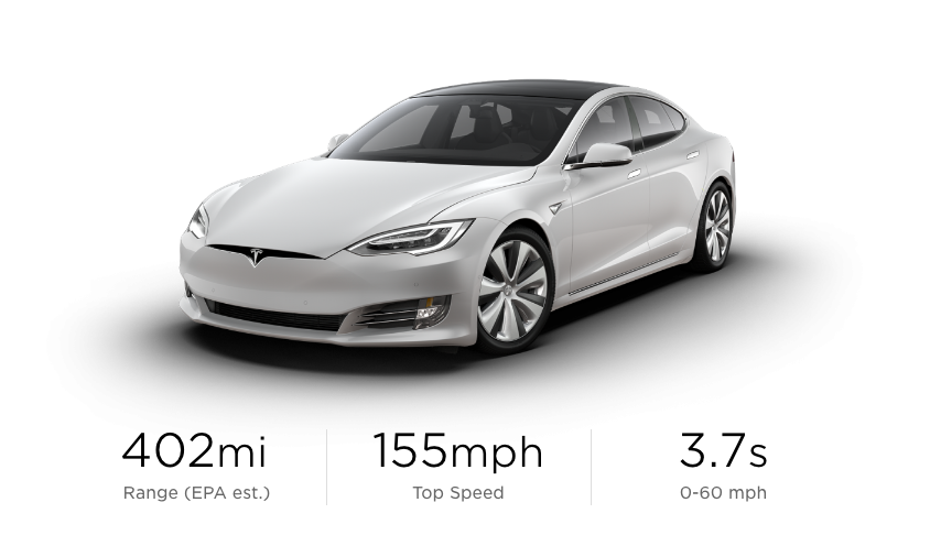 Tesla Model S Long Range Plus Earns EPA-Rated 400-Mile Range